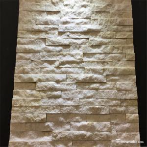 Mini Natural Stone Quartzite Ledgestone Veneer Panel For Backsplash / Fireplace
