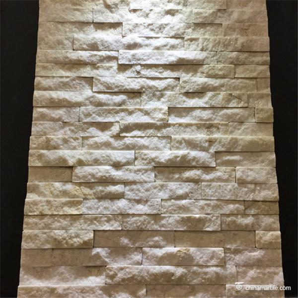 Quality Mini Natural Stone Quartzite Ledgestone Veneer Panel For Backsplash / Fireplace for sale