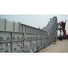 China Dry Slag Remover Bottom Ash Conveyor For Cooling Hot Slag , Transmission wholesale