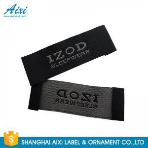 China Satin Silk Printing Garment Clothing Label Tags Woven Customize Design wholesale