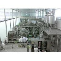 China Automatic  Soft Drinks Production Line With 3000L / H Caraboneted drinks Mixer wholesale