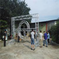 Safety Heavy Duty Aluminum Box Truss , Non Rust Global Square Truss Lighting for sale