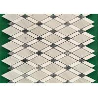 China Venice White Mosaic Kitchen Floor Tiles , Mosaic Style Floor Tiles 10 Mm Thick wholesale