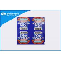 Buy cheap Metallic Shiny Surface Lidding Film Food Packaging Eight Cup Structure from wholesalers