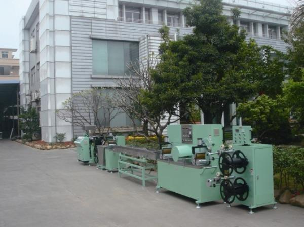 Quality Low Consumption Plastic Extrusion Machine Extrusion Pvc For Garlic Packaging for sale