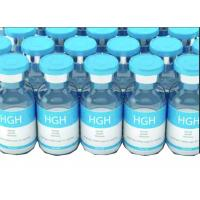 China HGH Growth Hormone Steroid Vial Labels , Medication Label Stickers With White PVC wholesale