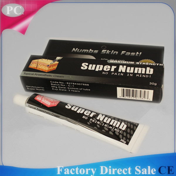 Quality 30g Tattoo Pain Killer Numb Product Pain Stop No Pain Relief Pain Super Numb Anaesthetic Numb Cream For Permanent Makeup for sale