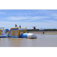 Buy cheap Bouncia Commercial Grade Inflatable Water Jump Pillow For Lake from wholesalers