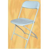 China plastic foldable events chair Commercial White Plastic Folding Chairs Stackable Wedding party event chair wholesale