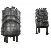 China Cs Ss Jacketed Reactor Maximum 600 Tons Weight Multi Pressure Optional wholesale