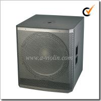 China 18 inch Active Painting Subwoofer 98dB Speaker Cabinet Wooden Speaker (PS-1850W) on sale
