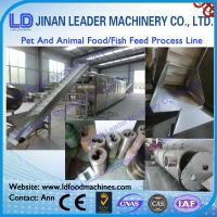 China CE certificate pet and animal food processing line wholesale