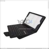 China Bluetooth Keyboard Leather Case for iPad Mini on sale