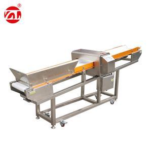 China Long Conveyor Belt Metal Detector Equipment For Bulk Puffed Food on sale