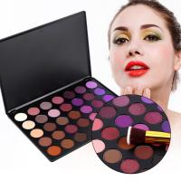 China Romantic Pink And Purple Eyeshadow Palette Waterproof 35P Color Customized wholesale