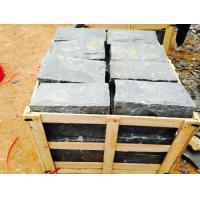 China Black Residential Construction Granite Bathroom Tiles Bush Hammered wholesale