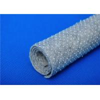 China 8Mm High Temp Needle Punched Felt , Nonwoven Fabric Roll Good Hand Feeling wholesale