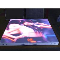 China P6.25mm LED Dance Floor Tiles , Full HD SMD3528 Waterproof LED Screen wholesale
