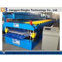 China 0.8~1.2mm Thickness metal roof roll forming machine , roofing sheet roll forming machine wholesale