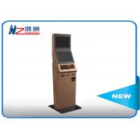 China Customized smart design interactive information kiosk with RFID card wholesale