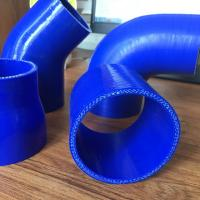 China Silicone Hose reinforce Straight/Reducer Coupler/45&90Elbow/Vaccume Hose ID:8mm-127mm on sale