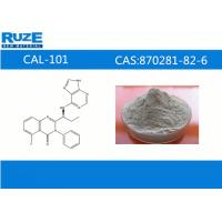 China Customer Synthesis high assay CAL-101 Antineoplastic Drugs CAS 870281-82-6 wholesale