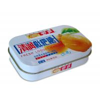 China Seamless Rectangulare Metal Tin box for Candy and Mint and Gift cards packaging wholesale