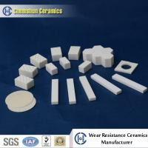 China Chemshun Ceramic Wear Resistant Alumina Lining Pieces as Lagging Ceramics on sale