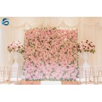 Buy cheap Stable Artificial Wall Panels GSFW02 , Customized Fake Floral Wall Wedding from wholesalers