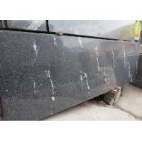 China Snow Grey Granite Slabs Polished , Granite Half Slabs For Exterior Wall Cladding wholesale