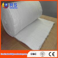 China Heat Insulation Kaowool Ceramic Fiber Blanket 600mm ,610mm Width White Color wholesale