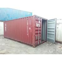 China Durable Dry Used Steel Storage Containers For  Logistics And Transport on sale