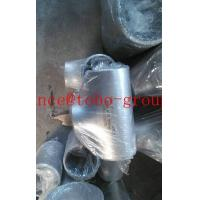 China ASME/ANSI B16.9 Stainless Steel butt welded reducer tee pipe fitting on sale