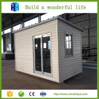 China puerto rico living 20ft container house prefab houses furnished wholesale