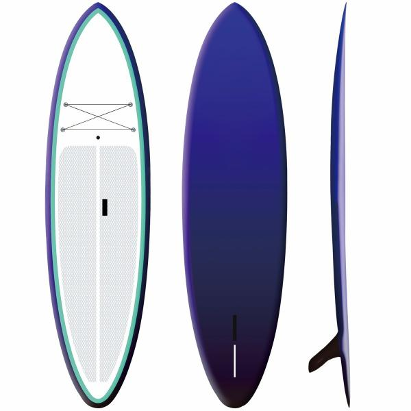 Quality 15PSI Durable Inflatable Race Sup , Surfing / Yoga Sup Touring Board for sale