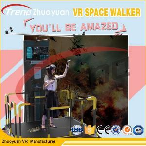 China 220 V Space Walk VR Theme Park Simulator With 360 Degree HTC / Vive Glasses wholesale
