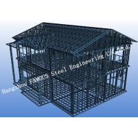 China Pre-engineered Stabl Structure Light Steel Villa with Glass Curtain Wall for Showroom wholesale