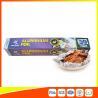 Disposable Food Grade Aluminum Foil Sheets Oil Resistant , Aluminium Sheet Roll for sale