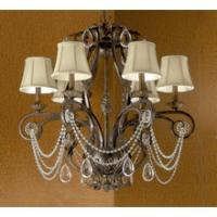 China Luxury Gold-plating crystal chandelier wholesale