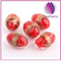 China Handcrafted beautiful mixed color lampworked glass beads for sale wholesale