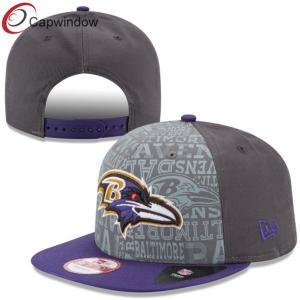 China Gray Snapback Baseball Caps for Men / Boys customized baseball hats on sale
