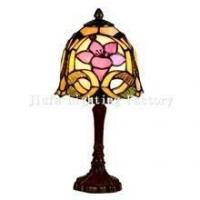 China TL060013-flower tiffany accent lamp bedside table light wholesale