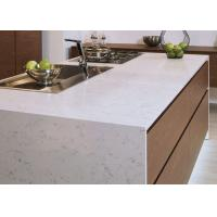 China Luxury Kitchen Natural Quartz Countertops With Sinks Common Sizes wholesale