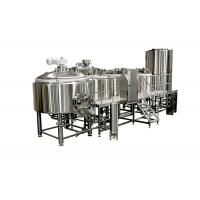 China 5000L Sanitary SS Large Brewing Equipment With Tri - Clamp Connection wholesale