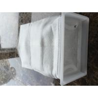 Buy cheap micron filter bag square collar water filter liquid filter bag PP PE 200 micron from wholesalers