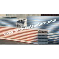 China EPS / PU Metal Roofing Sheets With Color Steel Sandwich Panel wholesale