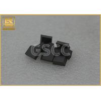 China Cemented Tungsten Carbide Tool Tips / Nail Proof Tungsten Carbide Alloy wholesale