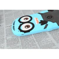China Soft Silicone Despicable Me Ipad 3 / 4 / 5 Case Blue Moisture Prevention Cases wholesale
