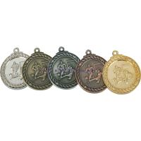 Sports Metal Medals with Ribbon