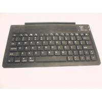 China Folding Silicone Bluetooth Keyboard Cases / Dustproof Smart Cover wholesale